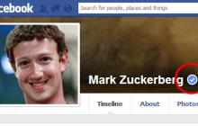 تیک آبی در فیسبوک چیست